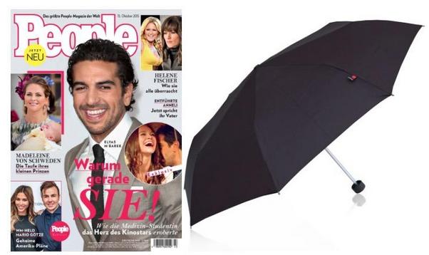 Zeitschriften Abos ab 12€ + Knirps Regenschirm (Wert 30€) + Bankeinzugs Vorteile