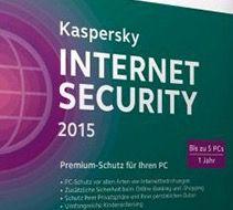 Kaspersky Internet Security 2015 Gold Edition für 29,90€   für 5 PCs, 1 Jahr