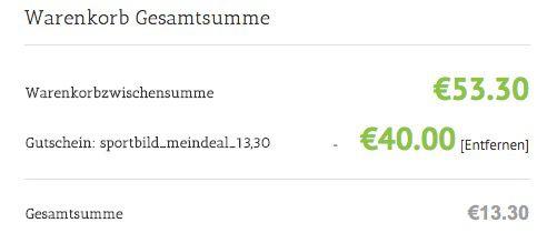Knaller! SportBild Halbjahresabo statt 53,30€ für nur 13,30€