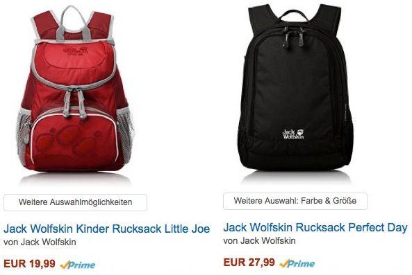 Reduzierte Rucksäcke bei Amazon   Top!