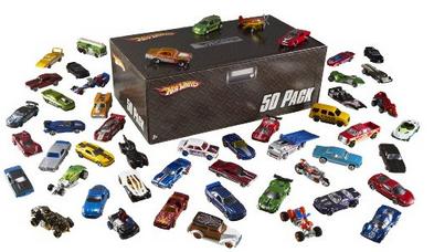 Hot Wheels 50er Pack Autos (einzeln verpackt) für 58,95€