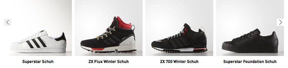 Adidas:  20% Rabatt Extra auch auf Sale + VSK frei
