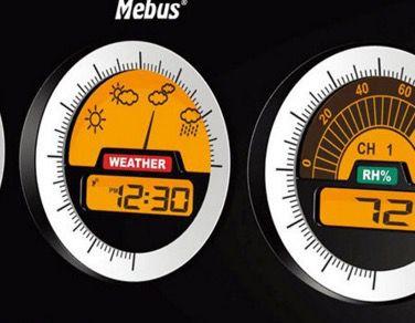 Mebus Funk Wetterstation für 22,22€ (statt 29€)
