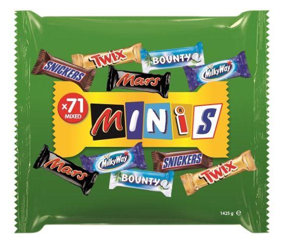 Mixed Minis Box mit 1,4kg für 11,49€