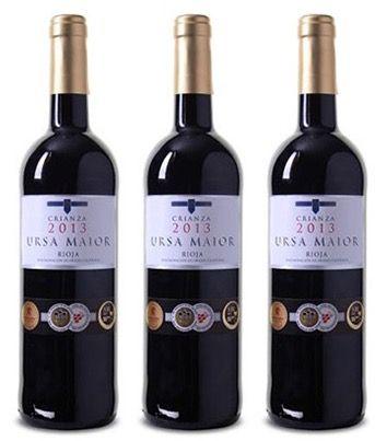 6 Flaschen Bodegas Olarra Rioja DOCa Crianza für 46,89€
