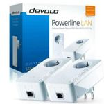 Devolo dLAN 1200+ Starter Kit Set Powerline + Kaspersky Internet Security 2016 für 99€ (statt 128€)