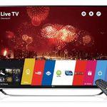 LG 55UF860V – 55 Zoll SUHD 3D Fernseher mit WLAN für 1.208,90€ (statt 1.533€)
