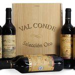 6 Flaschen Val Conde Seleccion Oro in Holzkiste für 39,99€ – goldprämiert!