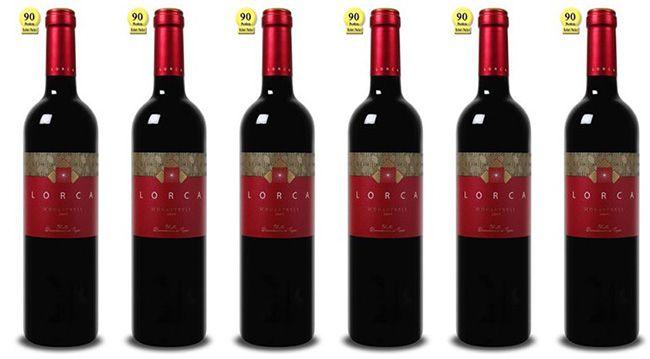 6 Flaschen Bodegas del Rosario mit 90 Parker Punkten für 25,89€