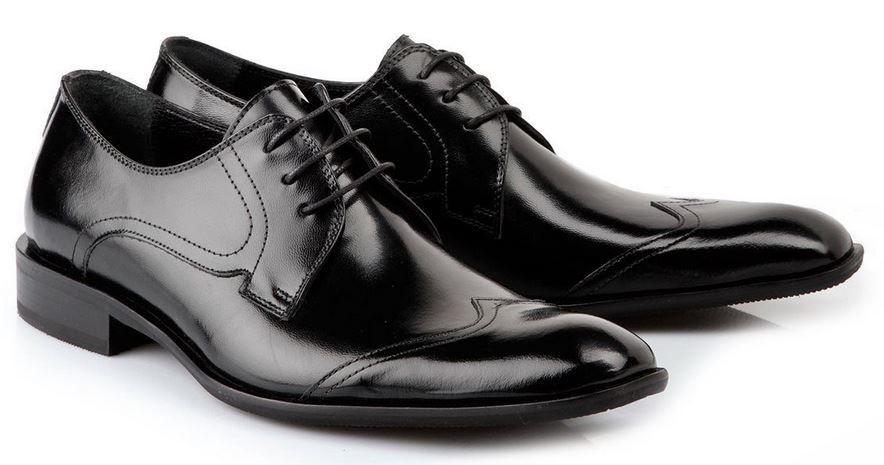 Buffallo   Herren Business Leder Schuhe für je Paar nur 40,43€