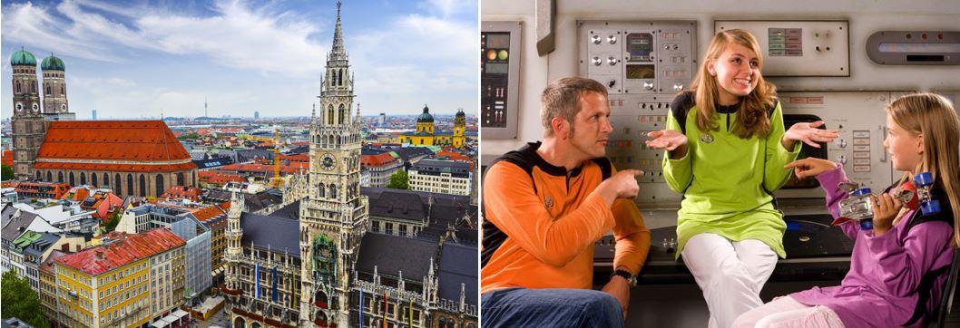 4* Hilton Munich City + Besuch der Filmstadt   1 bis 3 Übernachtungen ab 99€ p.P.