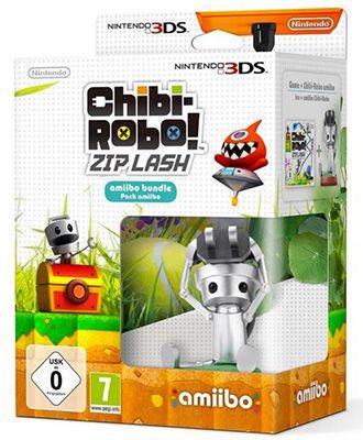Chibi Robo Chibi Robo!: Zip Lash   amiibo Bundle (3DS) für 27,99€ (statt 38€)