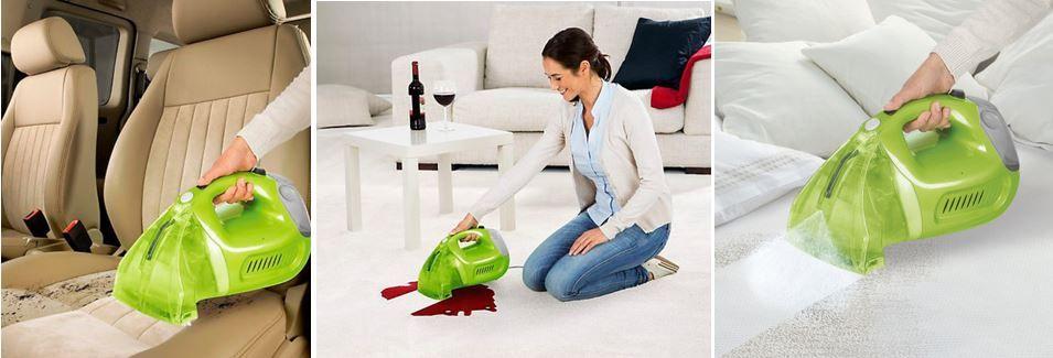 cleanmaxx Polsterreiniger und Teppichreiniger inkl Reinigungskonzentrat für 29,99€