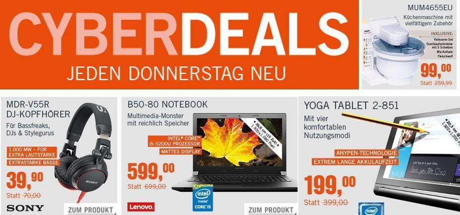 Lenovo B50 45 MCD32GE Notebook für 329€ in den Cyberdeals
