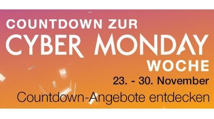 Amazon Top Angebote des Tages: Countdown zur Cyber Monday Woche: Tag 3