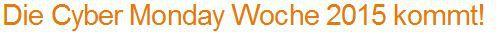 Amazon Top Angebote des Tages: Countdown zur Cyber Monday Woche: Samstag