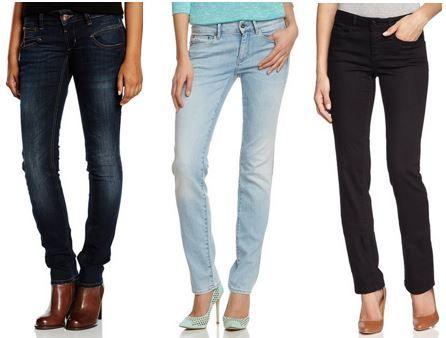 Damen Jeans Sale Damen Jeans Sale bis 65% Rabatt   nur heute @ Amazon