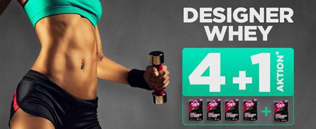 Designer Whey 1kg ESN Whey gratis beim Kauf von 4 Beutel