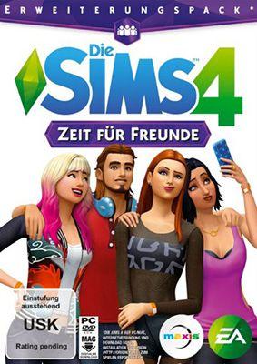 Die Sims 4 Die Sims 4   Zeit für Freunde (Erweiterung) als Code für 4,99€