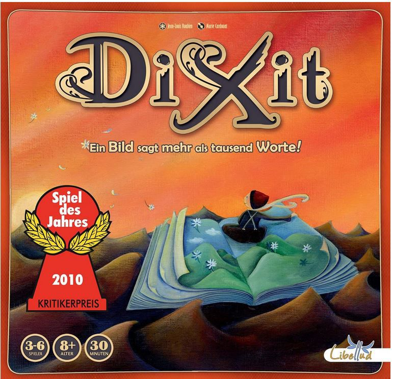 Asmodee   Libellud 200706 Dixit   Spiel des Jahres 2010 ab 17,67€