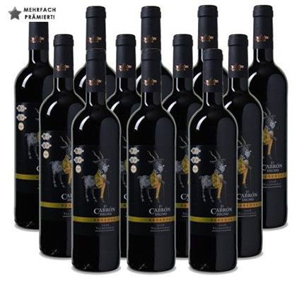 12 Flaschen El Cabron Digno Reserva Rotwein für 54,90€   mehrfach goldprämiert!