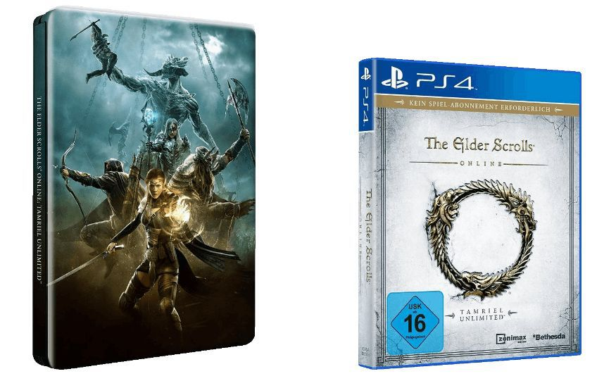 Elder Scrolls Online The Elder Scrolls Online: Tamriel Unlimited (Steelbook, PS4) für nur 17€ (statt 28€)