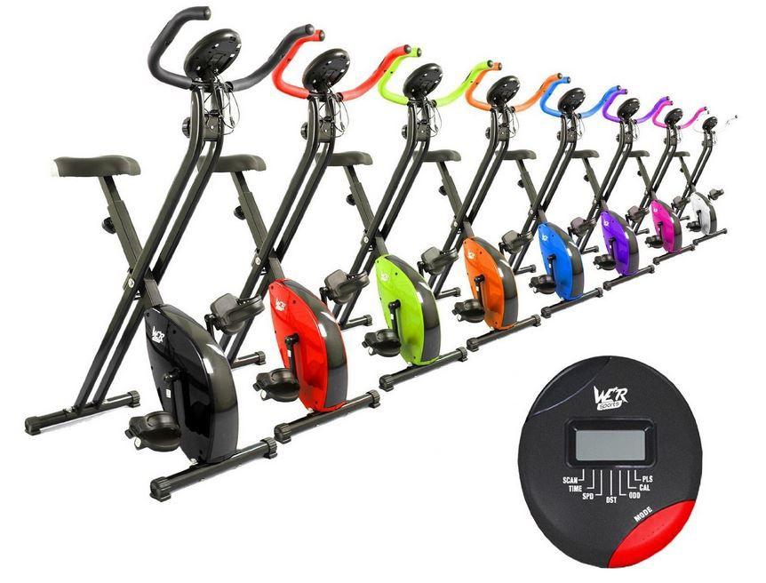 X Bike   zusammenklappbarer Hometrainer mit mag. Bremse für nur 90,46€