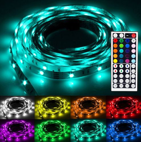 Flash30 NINETEC Flash30   5m RGB LED Strip für 17,99€