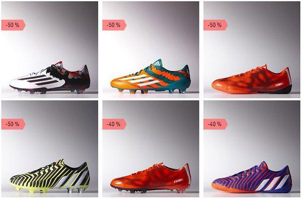 Fußball Outlet adidas Fußball Outlet mit bis 50% Rabatt + 30% Extra Rabatt + VSK frei ab 50€
