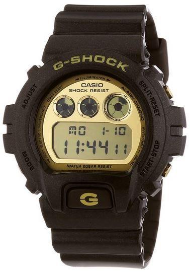 Casio Resin DW 6900BR 5ER   Herren G Shock Armbanduhr für 64,85€
