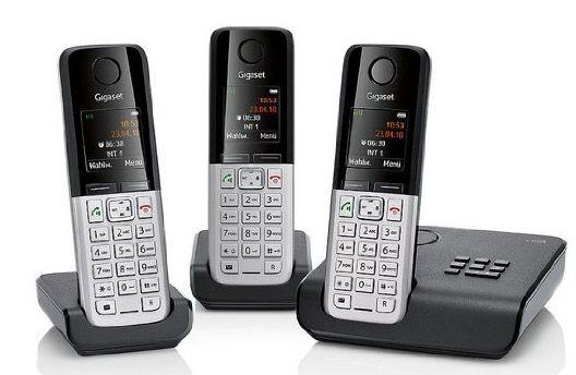 Gigaset C300A Trio DECT Gigaset C300A Trio DECT Schnurlos Telefon Set für 69,99€ (statt 98€)