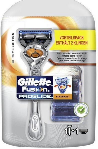 Gillette Fusion ProGlide Flexball Rasierer Promo in der Chrome Edition ab 6,95€