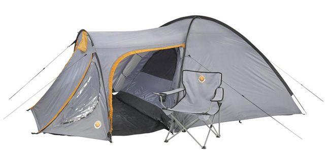Grand Canyon Morgan Zelt Grand Canyon Morgan 3 4 Personen Zelt für 47,50€ (statt 90€)
