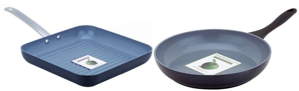 Greenpan Pfannen Green Pan Aluminium Grillpfanne oder Bratpfanne PTFE  und PFOA frei ab 18,99€