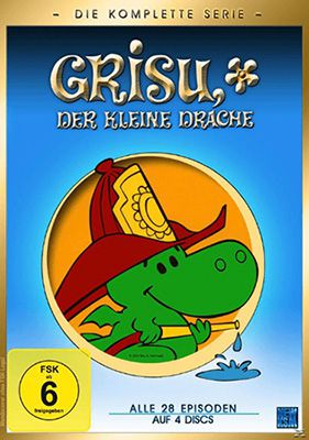 Grisu der kleine Drache Grisu der kleine Drache (DVD Gesamtbox) für 8,99€ (statt 13€)