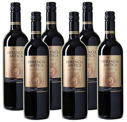 Herencia Antica Bobal Cabernet Sauvignon 6 Flaschen Herencia Antica Bobal Cabernet Sauvignon für 22,89€