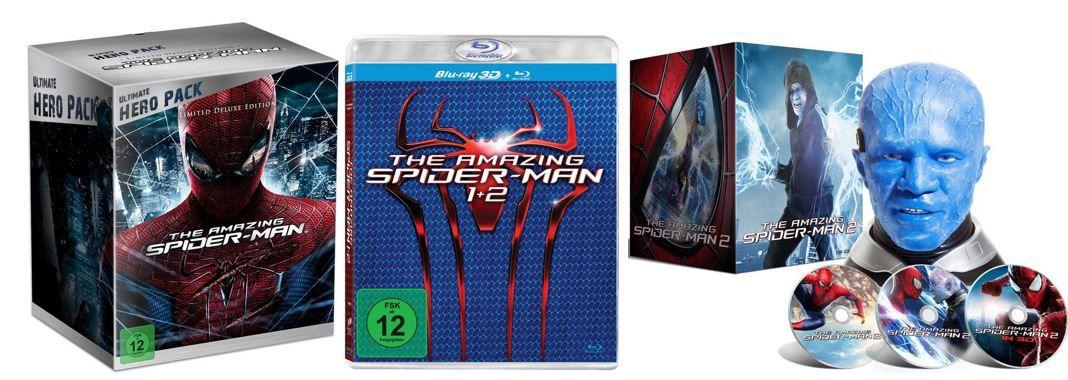 Verschiedene Spiderman Boxen als Amazon Tagesangebot ab 14,97€