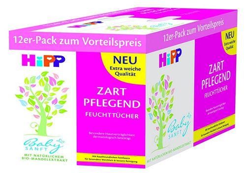 672 HiPP Babysanft Feuchttücher ab 12,95€
