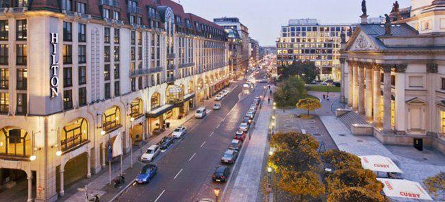 1 3 Nächte im 5 Sterne Hilton Hotel in Berlin mit Frühstück ab 95€ p.P.