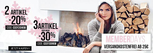Hunkemöller: 20% Rabatt bei 2 Artikel oder 30% Rabatt ab 3 Artikel   VSK frei ab 25€