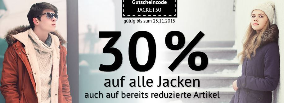 Jack & Jones Drake Sakko für 55,93€ dank 30% Rabatt auf alle Jacken @Hoodboyz