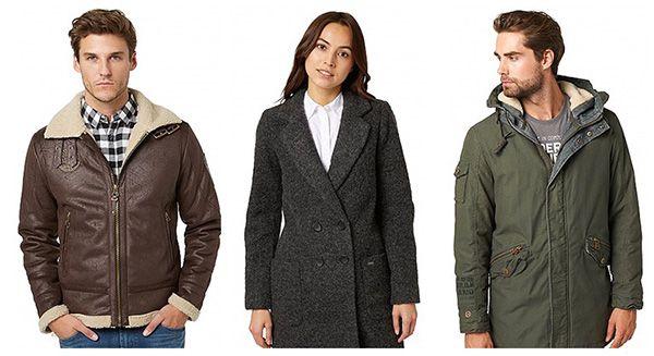 20% Rabatt auf alle Jacken und Mäntel bei Tom Tailor