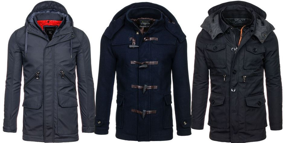 KAMLIN Herren Jacken   16 Modelle für je 34,95€