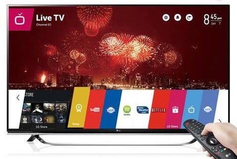 LG 55UF860V   55 Zoll SUHD 3D Fernseher mit WLAN für 1.208,90€ (statt 1.533€)