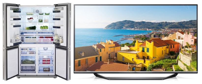 Amazon Top Angebote des Tages z.B.: Bis zu 58% reduziert: Ultra HD Fernseher und mehr von LG