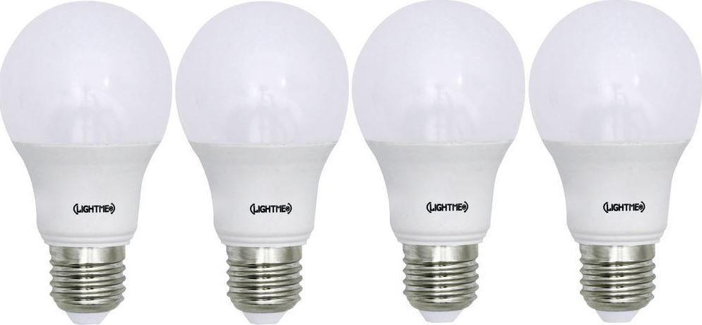 LightMe LED   8er Pack LED Glühlampen (E27, 8,5W, EEK A+) für 20,43€