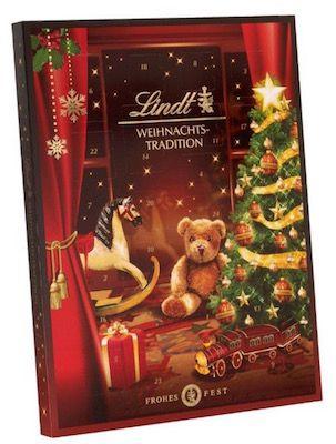 Lindt Adventskalender Lindt & Sprüngli Weihnachts Tradition Adventskalender ab 13,49€ (statt 25€)