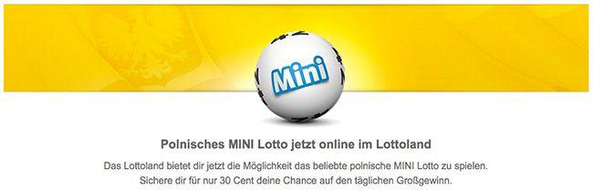 Lottoland: 7 MINI Lotto Tipps + 5 Rubbellose für nur 1€