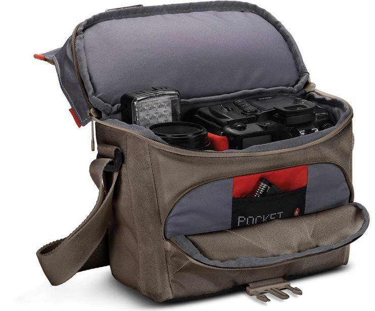 Manfrotto Preisfehler Manfrotto   Kamera Schultertasche für DSLR Kameras für nur 18,24€