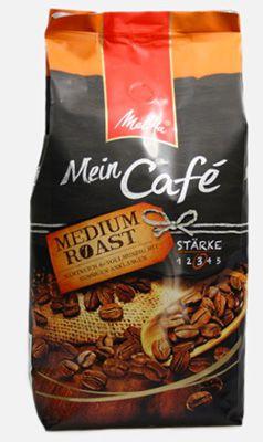 1kg Melitta Mein Café Medium Roast Bohnen ab 8,49€